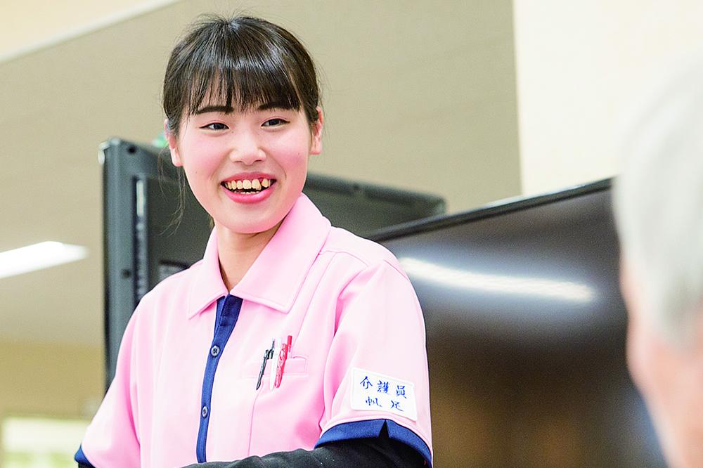 帆足 美鳩さん 平成30年3月 生活福祉情報科卒業